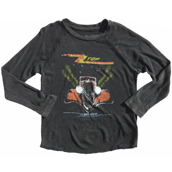 ZZ Top Kids Long Sleeve T-Shirt - Eliminator