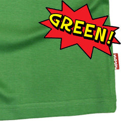 Green Kids T-Shirt by Stardust