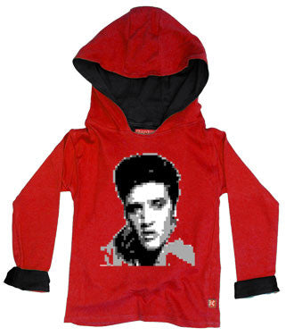 Elvis Kids Hoody - featuring the face of 'The King'