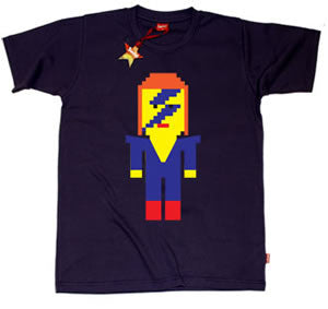 Lego David Bowie Teenage Boys T-Shirt
