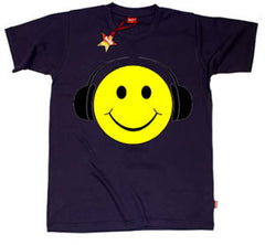 Smiley Face Teenage Boys T-Shirt