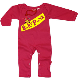 Baby Punk Baby Playsuit