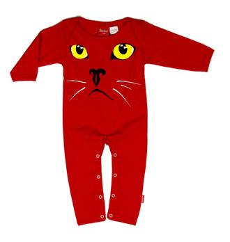 Baby Playsuit - Cats Eyes