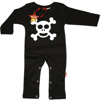 Jolly Roger Baby Playsuit