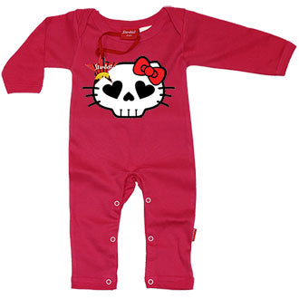 Hell Kitty Baby Playsuit by Stardust