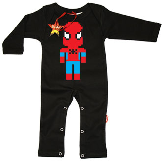 Lego Spiderman Baby Playsuit