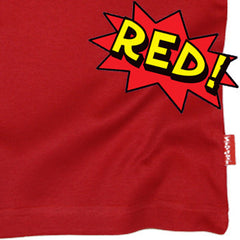 Red Kids T-Shirt by Stardust