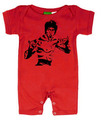 Bruce Lee Romper -  For All Mini Kung Fu Fans