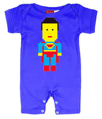Lego Superman Baby Romper by Stardust