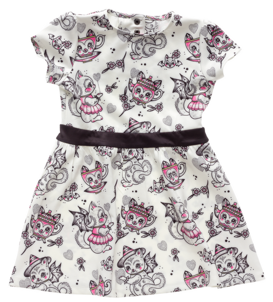 Sourpuss Creep Heart Dress