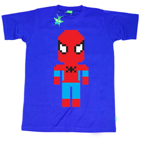 Lego Spiderman Kids T-Shirt by Stardust
