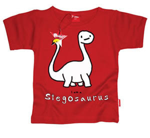 ASDF 'I am a Stegosaurus' Kids T-Shirt