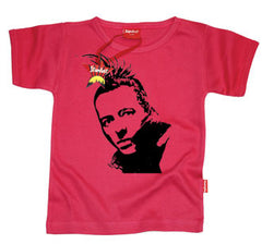 Joe Strummer Punk Kids T-Shirt by Stardust