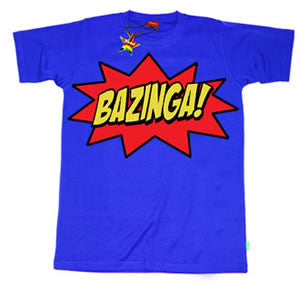 Bazinga Teenage Boys T-Shirt by Stardust