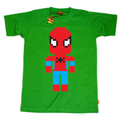 Lego Spiderman Teenage Boys T-Shirt