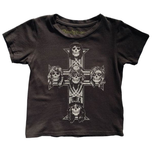 Guns 'N' Roses Baby T-Shirt - Classic GnR Cross Artwork