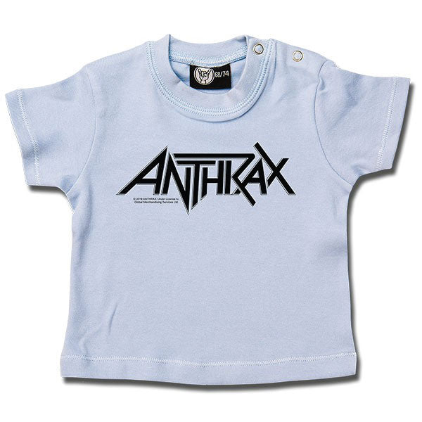 Anthrax Baby T-Shirt - Blue