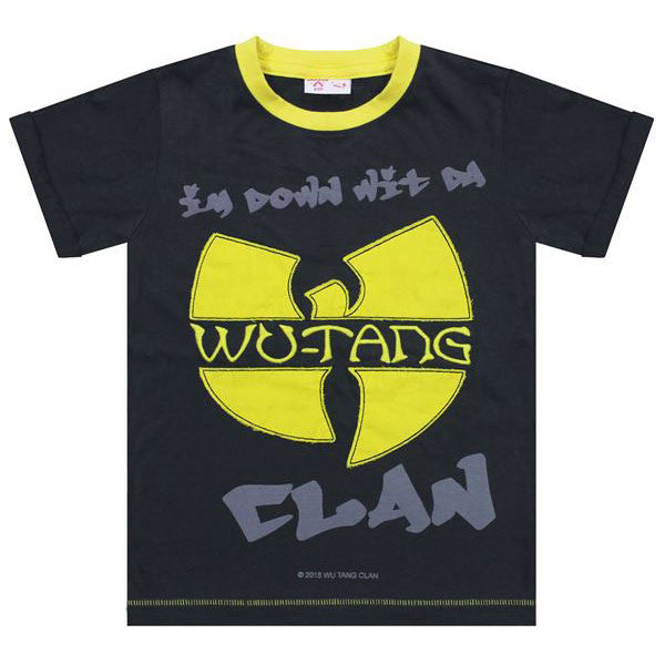 Wu-Tang Clan Kids T-Shirt - Down With Wu-Tang