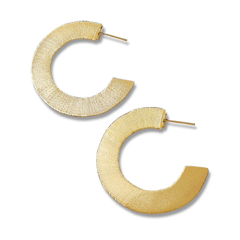 """C"" Earrings"