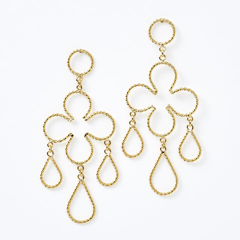 Clover Chandelier Earrings