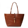 Dariana Tote with Leather Toggle