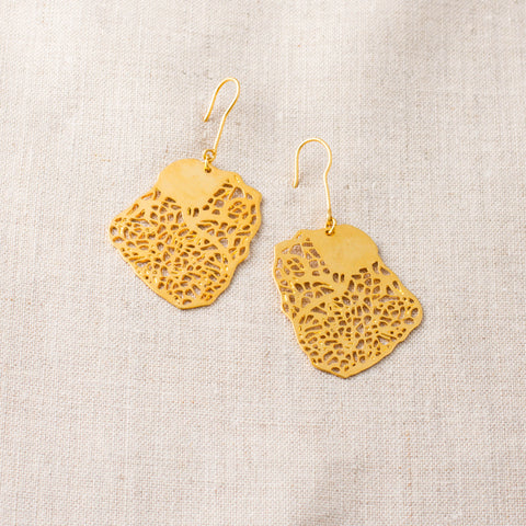 Delicate Porifera Earrings