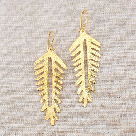 Urban Fossil Earrings