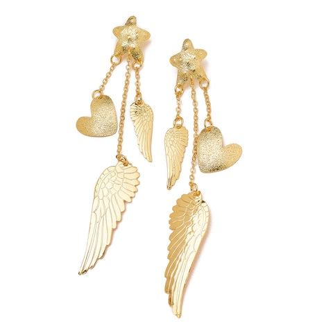 Hearts & Wings Earrings