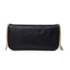 Stefania Bow Clutch with Gold Chain
