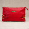 Red Viviana Clutch
