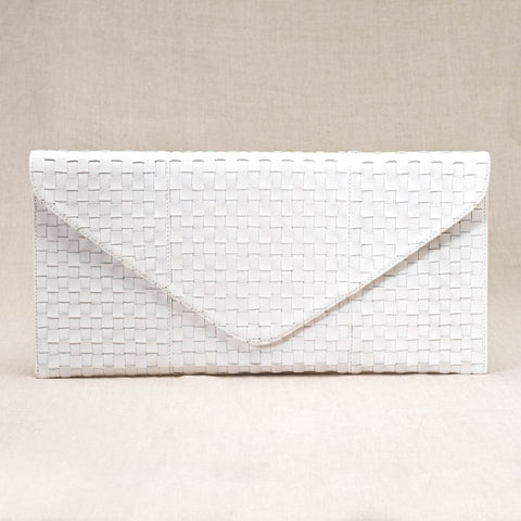 The Sofia Clutch (White)