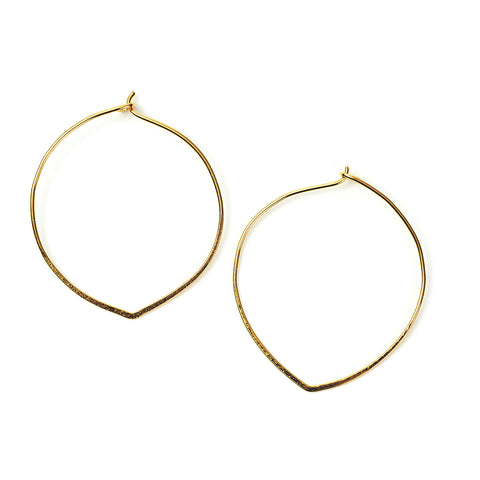 Ovalesque Hoops