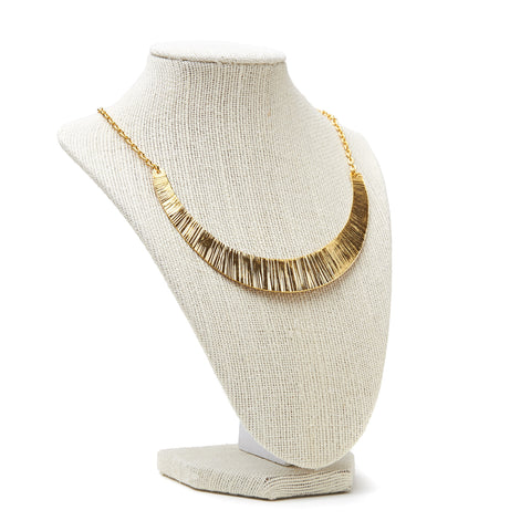 Plate Necklace {Gold}