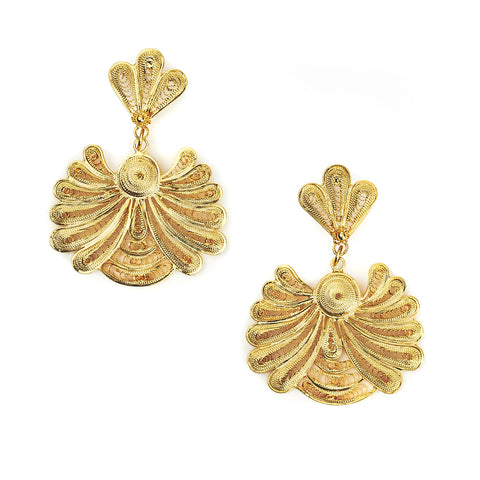 Royal Honeybee Earrings