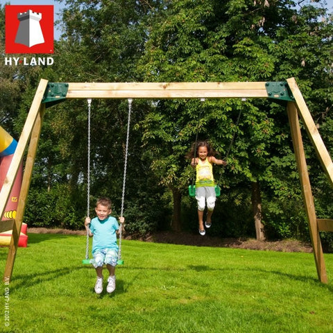 Hyland free standing swing module inc kit/timber + 2 swings