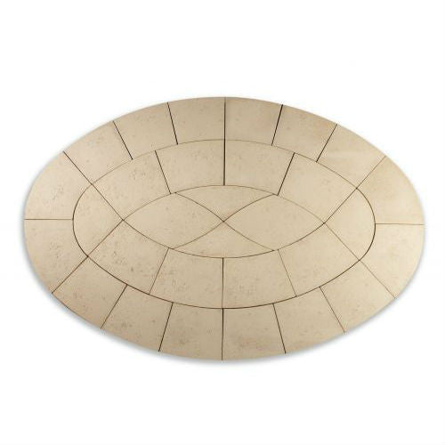 Bowland Baroque Oval Paving Kit