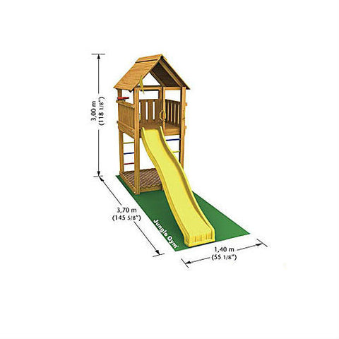 Jungle Gym Cabin Plan