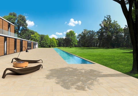 Canyon Porcelain Paving less than £33m² inc vat and free UK delivery