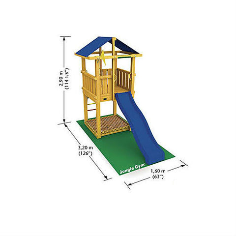 Jungle Gym Hut - Plan