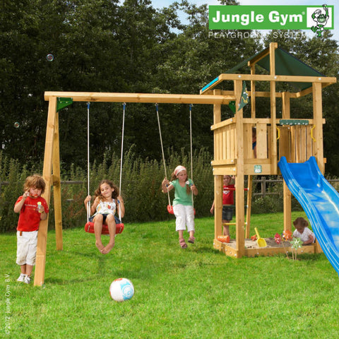 Jungle Gym Hut & Swing Module