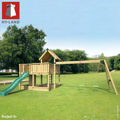 Hyland bolt on swing module inc kit/timber + 2 swings
