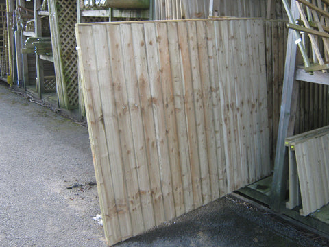 FENCE PANELS - Vertilap - Pressure treated