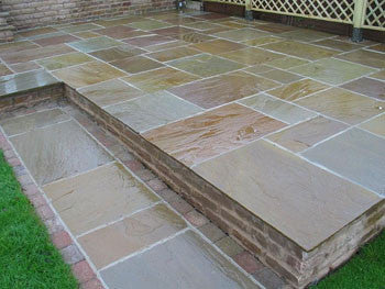 Raj Green Natural Stone Paving