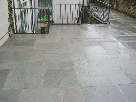 Grey Sandstone Paving Riverside Garden Centre Chesterfield