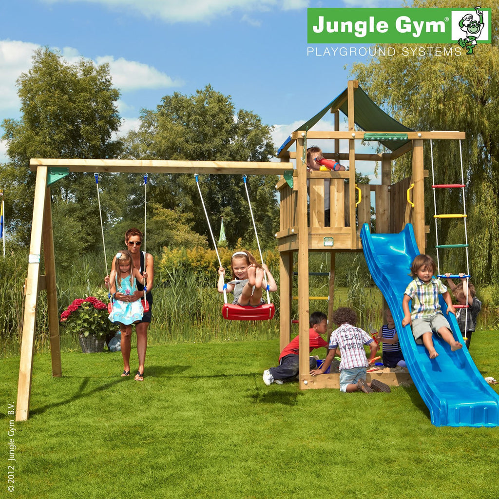 Jungle Gym Lodge & Swing Module