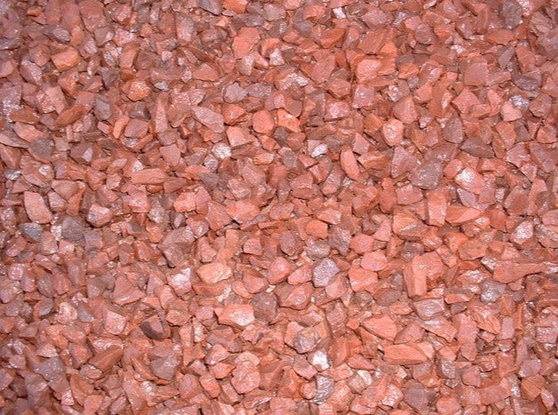 Chippings - Red Granite Chippings 14mm - Bulk Bag