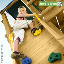 Jungle Gym Rock Module including timber