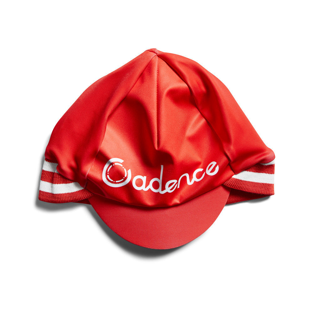 Cadence Contrary Cap - red