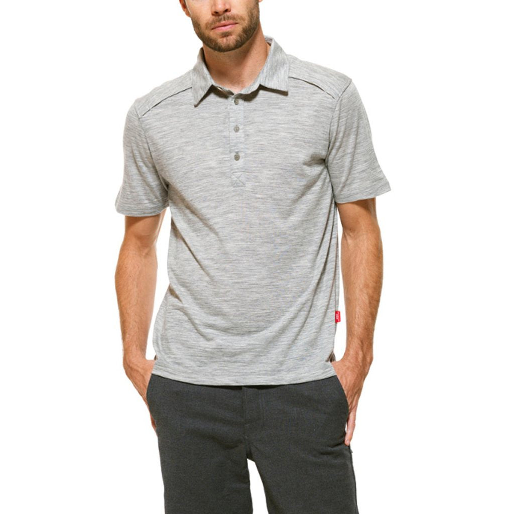 Giro MERINO POLO - Grey Heather