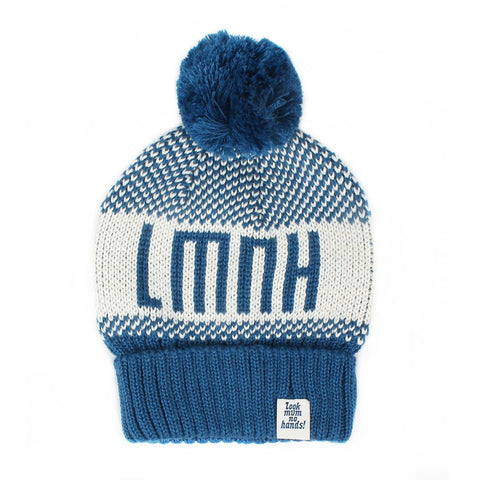 LMNH Bobble Hat - blau